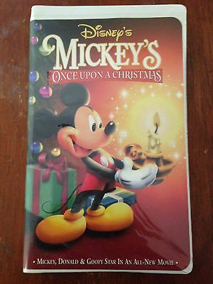 mickeys once upon a christmas vhs 1999 clamshelldisneygoofy - Mickeys Once Upon A Christmas Vhs