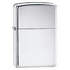 Zippo 250 Zippo High Polish Chrome       250