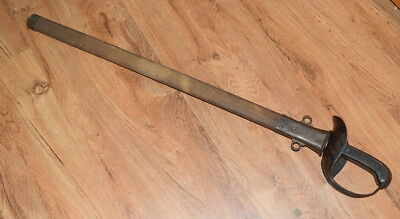 United States M1913 Cavalry Patton Saber With Scabbard LF&C 1918 WWI