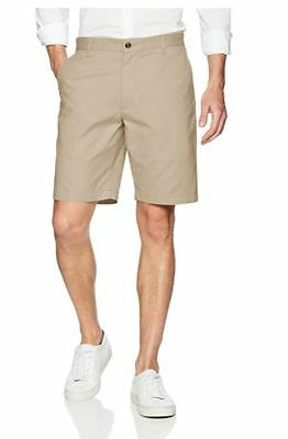 NEW Dockers Men's Classic-Fit Perfect-Short - 34W - Sand Dune (Cotton)	Khaki