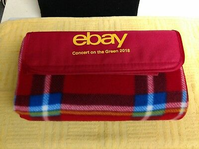 Ebay Blanket Concert On The Green 2018 New Red With Multiple Colors Austin TX