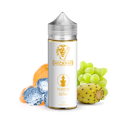 Dampflion Checkmate WHITE KING 10 ml Aroma für E-Liquid