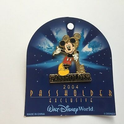WDW Annual Passholder Exclusive 2004 Mickey Mouse Disney Pin 27753