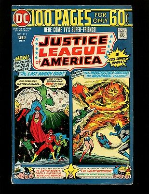 Justice League of America #115 FN- Giant Cardy Justice Society Martian Manhunter