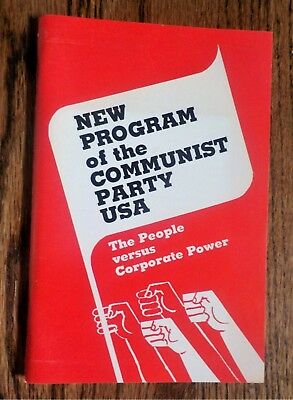 New Program of the Communist Party USA, paperback book