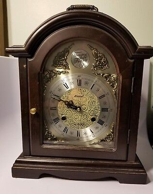 Tempus Fugit 31 Day Mantel Clock - Alaron C-34 with Pendulum & NO key