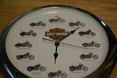 Harley clock collectable