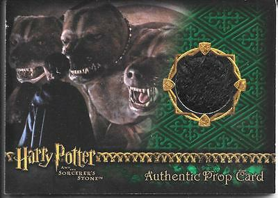 Harry Potter and the Sorcerer's Stone FLUFFY'S FUR PROP Card  Low Number 40