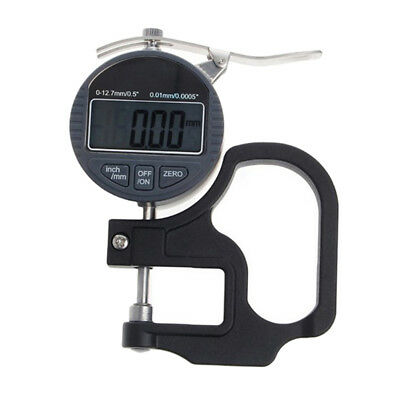 Precision 0-12.7mm 0.01mm Digital Electronic Measuring Thickness Gauge Meter