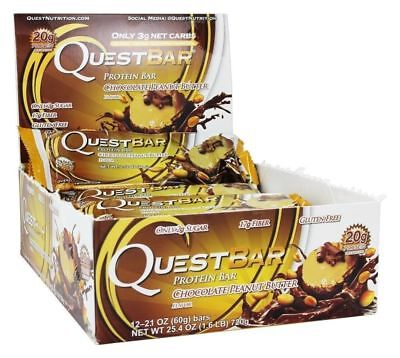 Quest Nutrition Protein Bars 12 Count- PICK FLAVOR EXP:8/18