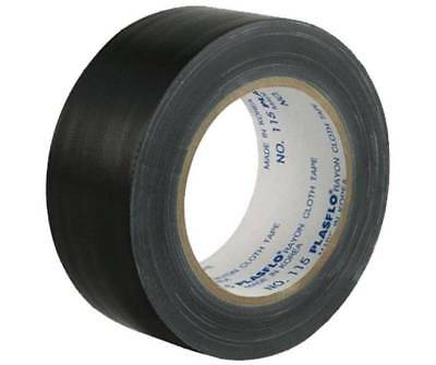 2/3/4/5/10/15 pcs 48mm x 25m Black Adhesive Cloth,Gaffa,Gaffer,Book Binding Tape