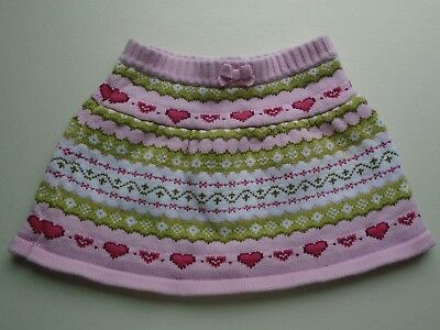 GYMBOREE Girls size 2T Cute FAIR ISLE SWEATER Skirt