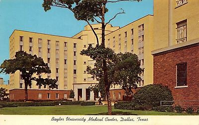 Dallas Texas~Baylor University Medical Center~Dental College~Blood Bank~1966 PC