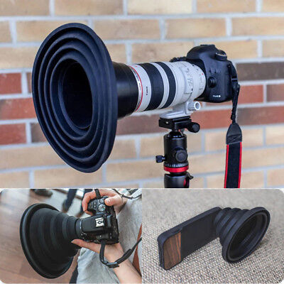 The Big Ultimate Lens Hood Take Reflection-Free Photos Videos For photographers