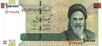 E RAN (Middle East) 100000 Rials 2018 P151 NEW UNC Banknote