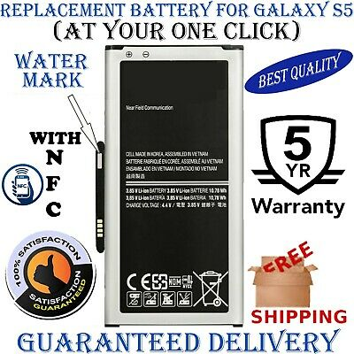BRAND NEW Samsung Galaxy S5 NFC Battery 2800mAh 4.4V with 1 YEAR WARRANTY