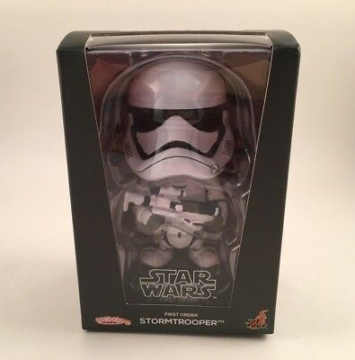 Cosbaby First Order Star Wars Storm Trooper Bobble Head COSB240 New In Box