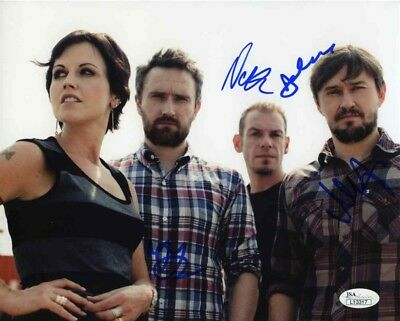 The Cranberries Group Autographed Signed 8x10 Photo Certified Authentic JSA COA