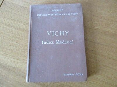 Vichy Index Medical Cure Thermale 1914 Sciences Medical Bains Douches
