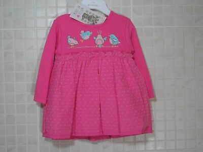 Spanish Style Romany Baby Girl Dress Pink Lace Watch Me Grow 12 m 18 m 24 months