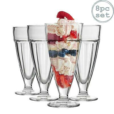 Knickerbocker Glory Dessert Sundae Ice Cream Glasses - 350ml x8