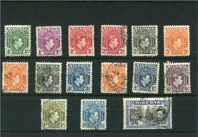 Nigeria.16 --Used/mm G6 Stamps On Stockcard. Includes 2/6.