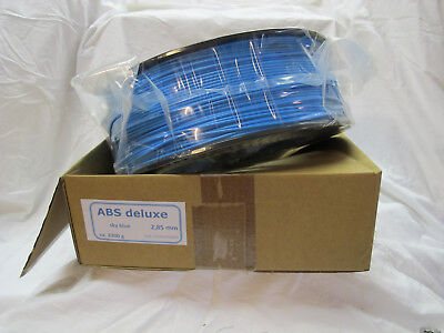 ABS deluxe Filament 2,85mm 2,3kg sky blue