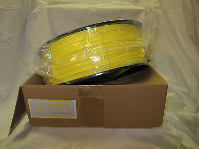 ABS deluxe Filament 2,85mm 2,3kg screeming yellow