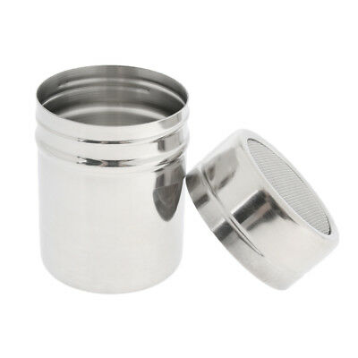 Stainless Steel Chocolate Shaker Icing Sugar Salt Cocoa Flour Coffee Sifter,