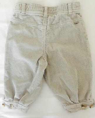 Waki Corduroy Trousers (3/4 Length), worn once, age 2.5-3 (or small age 4)