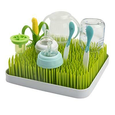 Baby Bottle Lawn Drying Rack Large Dish Grass Countertop Green