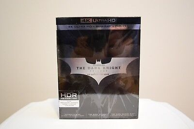 The Dark Knight Trilogy Collection 4K Ultra HD Blu-ray brand new and sealed
