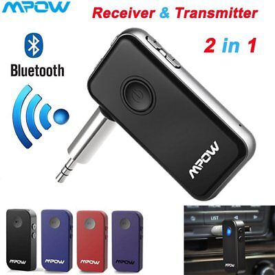 Mpow Bluetooth Receiver & Transmitter 2 in 1 Wireless MP3 Adapter Home Car Lot