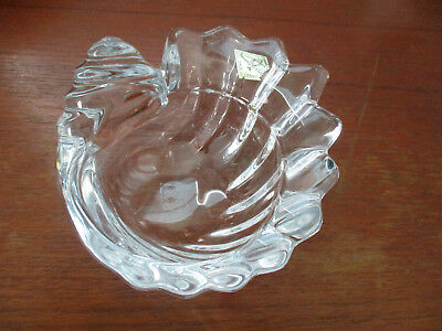 France Shell Design Glass Stamped with marker