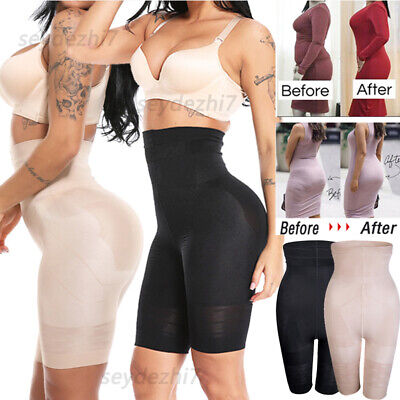 High-Waisted Shorts Pants Tummy Women Body Control Shaper Girdle Shapewear Slim