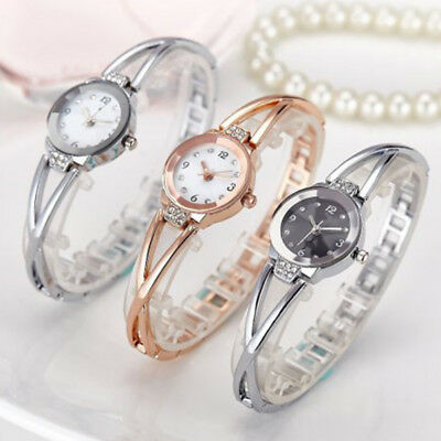 New Fashion Women Steel Belt Student Waterproof Quartz Ladies Wrist Watch