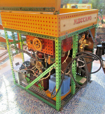 Rare Large Vintage Heavy Vintage Meccano Style  Cuckoo  Clock For Restoration