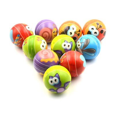 Anti Stress Smile Face Reliever Ball Autism Mood Squeeze Relief ADHD Toy Gif LZ