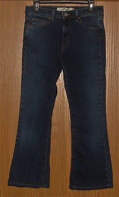 Womens Vintage Levi's 519 Low Flare Dark Blue Jeans Size 9M !! Awesome !!