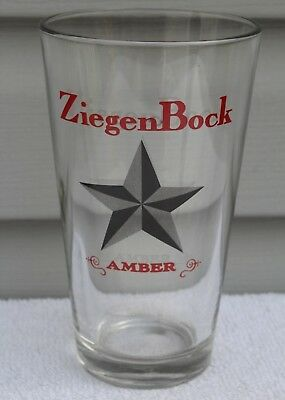 Vintage ZiegenBock Amber Pint Beer Bar Glass