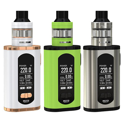 Eleaf® Invoke™ 220W VW/TC Kit | ELLO™ T 2ml/4ml HW | UK STOCK | 100% Authentic