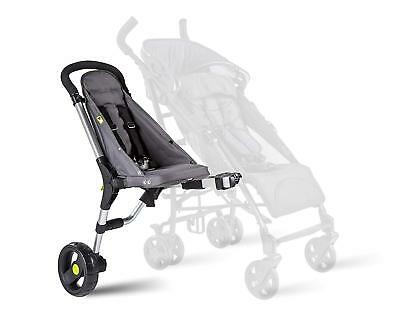 Buggypod io Toddler Side Seat For Pushchair - Anthracite A