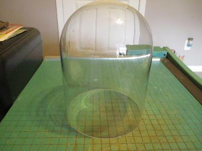 """Vintage 400 Day Anniversary Clock Glass Dome 7-3/4"""" x 5-5/8"""""""