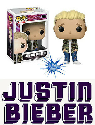 Funko POP! Rocks: Music - Justin Bieber Figure  *IN STOCK NOW*