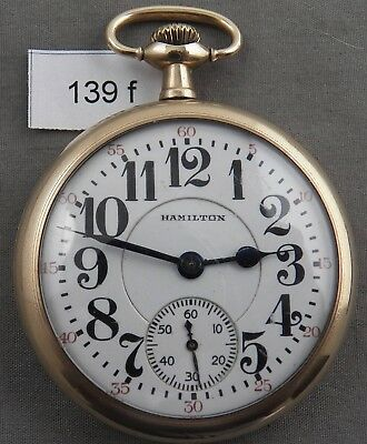 Hamilton 992, 21 Jewel, Railroad Approved Antique Pocket Watch