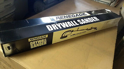 Renegade 9 in Drywall Sander with Lunar-X Tech 750W LED Light Vacuum Attachment