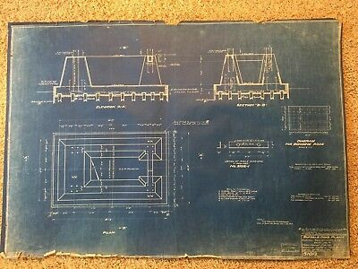 3 Bethlehem Steel Blueprints American Manufacturing Antique Republic Railroad