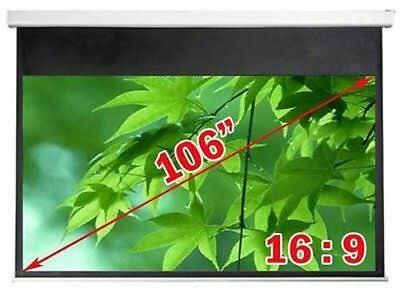 Antra™ PSA-106AG 16:9 Electric Motorized Projector Projection Screen Remote Matt