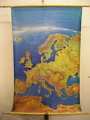 Schulwandkarte Beautiful Old Europa Europakarte 97x144 Panoramic Map 1999