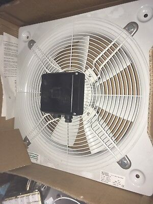 Extraction Fan 400mm dia Roof Units Axial Plate Euroseries 400 / 6 / 1A 240v New